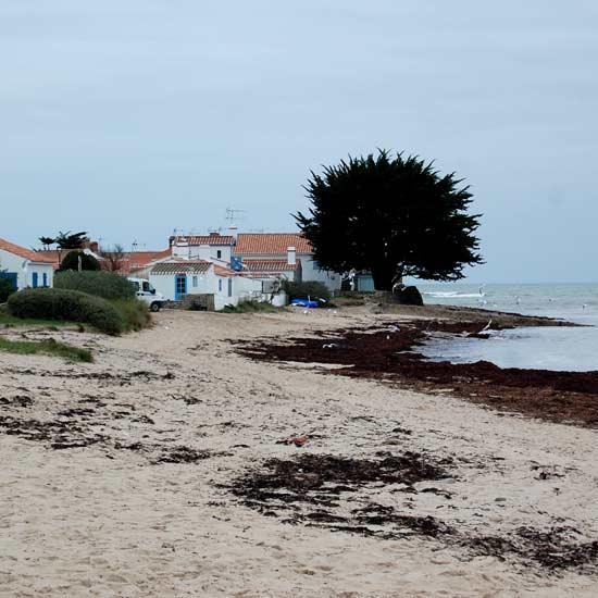 La plage du hameau du Vieil