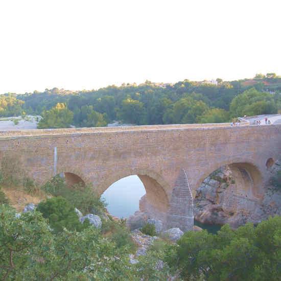 Le pont du diable à Saint-Guilhem-le-Désert