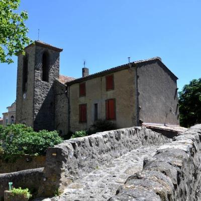 Pont du village de Labastide-en-Val