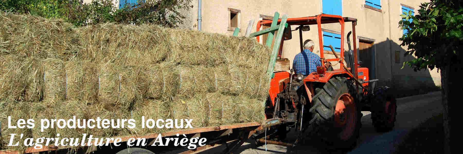 Les producteurs locaux de l'Ariège