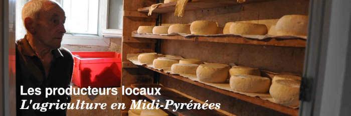 Les producteurs locaux en Midi-Pyrénées