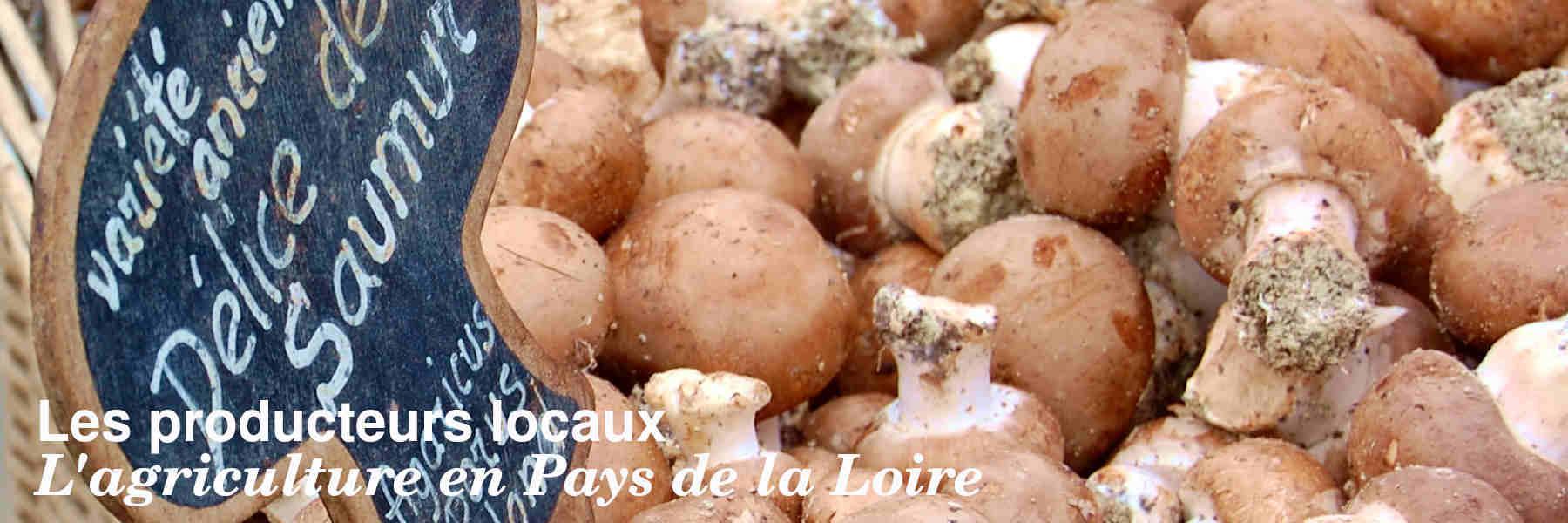 Les producteurs locaux en Pays de la Loire