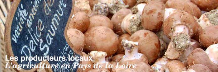 Les producteurs locaux du Pays de la Loire