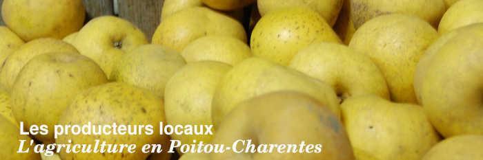 Les producteurs locaux en Poitou-Charentes