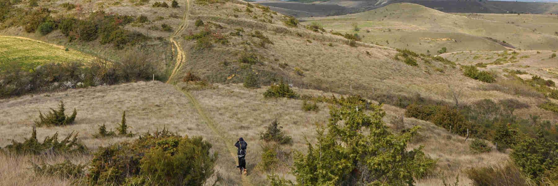 La randonnée pédestre de Fendeille