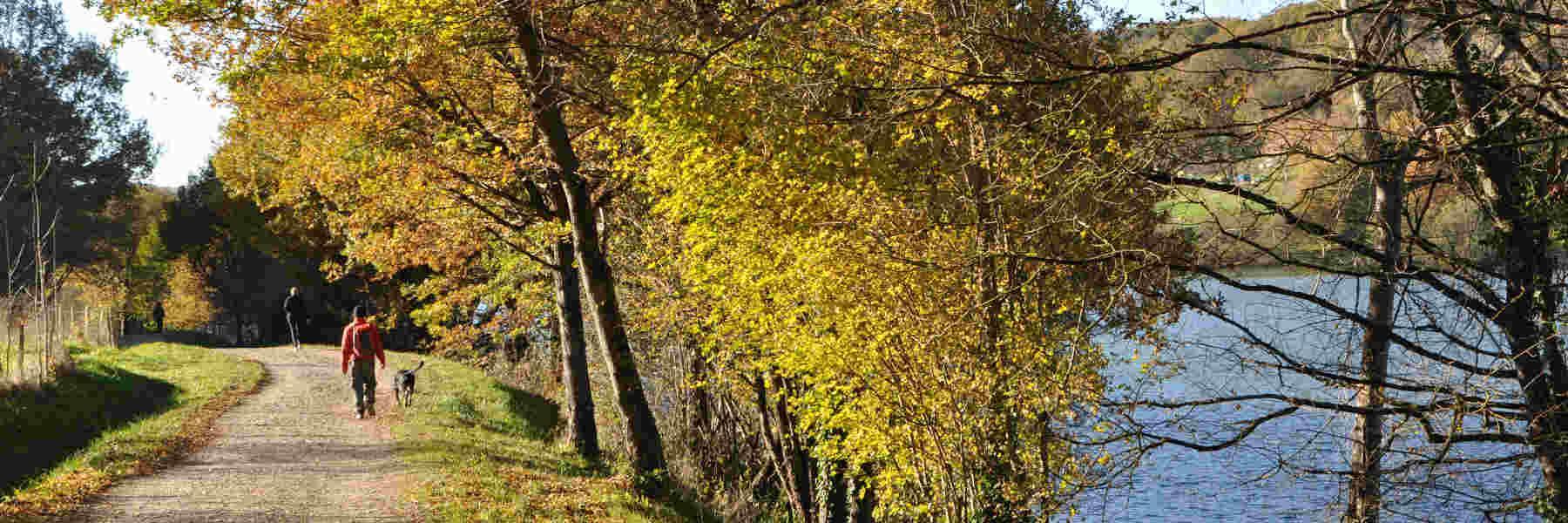 La randonnée pédestre à Lissac-sur-Couze