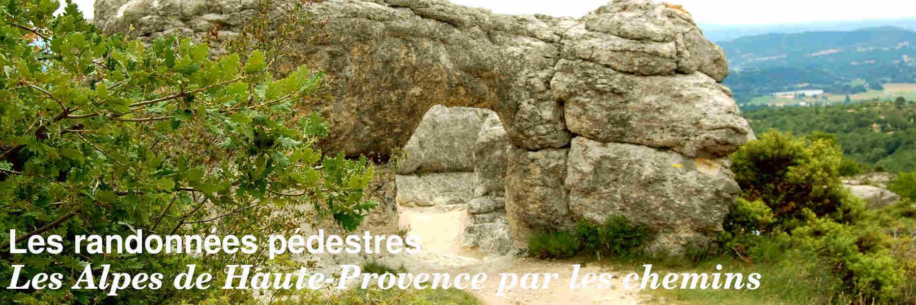 Les randonnées pédestres en Alpes de Haute-Provence