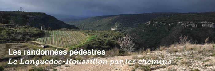 Les randonnees pédestres du Languedoc-Roussillon