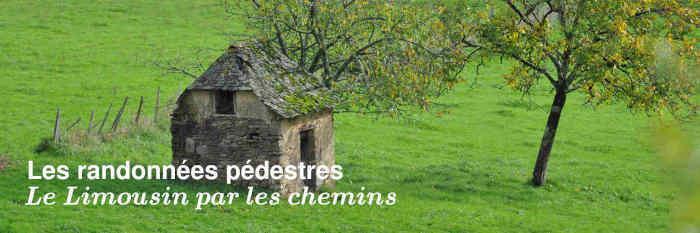 Les randonnées pédestres en Limousin