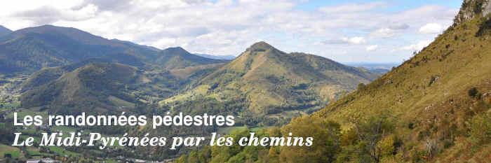 Les randonnées pédestres en Midi-Pyrénées