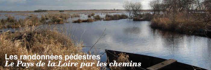 Les randonnées pédestres du Pays de la Loire