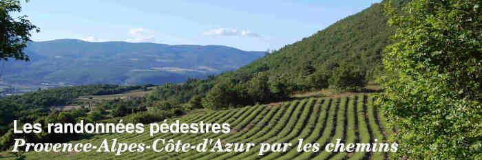 Les randonnées pédestres en Provence-Alpes-Côte-d'Azur