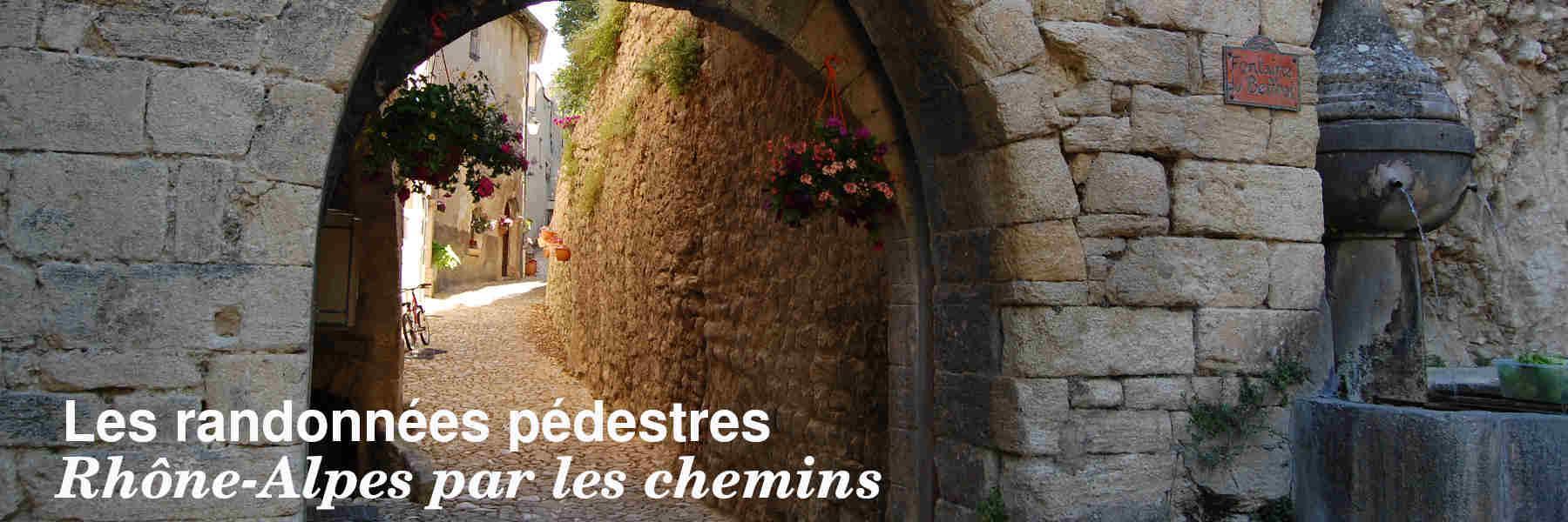 Les randonnées pédestres en Rhône-Alpes