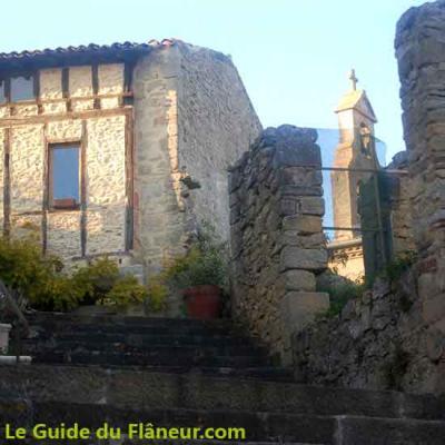 Le village de Roumengoux