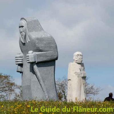 Saint Ronan et saint Kado