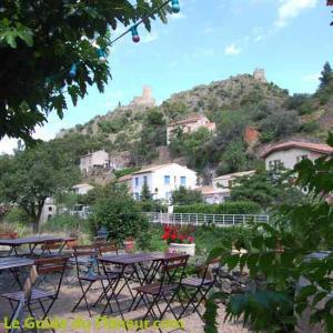 Terrasse du Moulin de Lastours