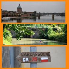 De Toulouse à Carcassonne