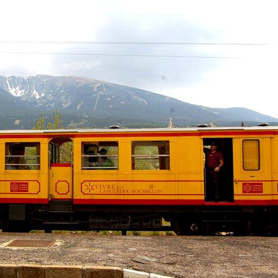 Le train jaune