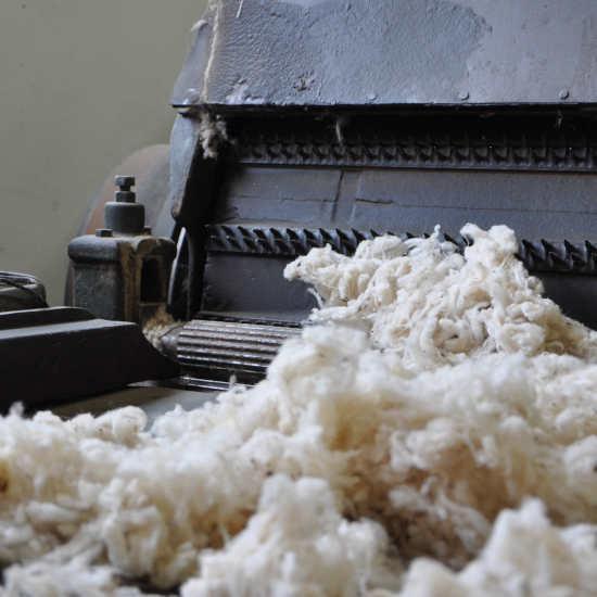 Travail et transformation de la laine