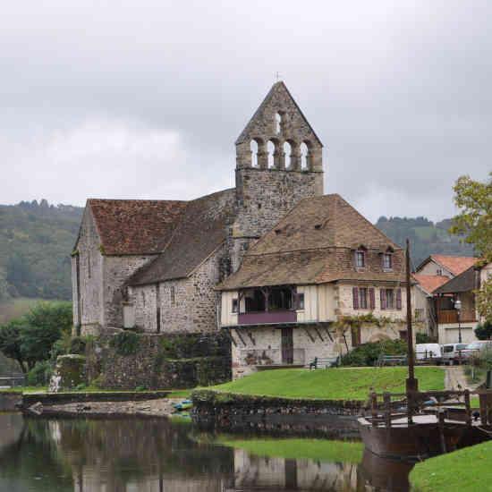 Le village de Beaulieu-sur-Dordogne