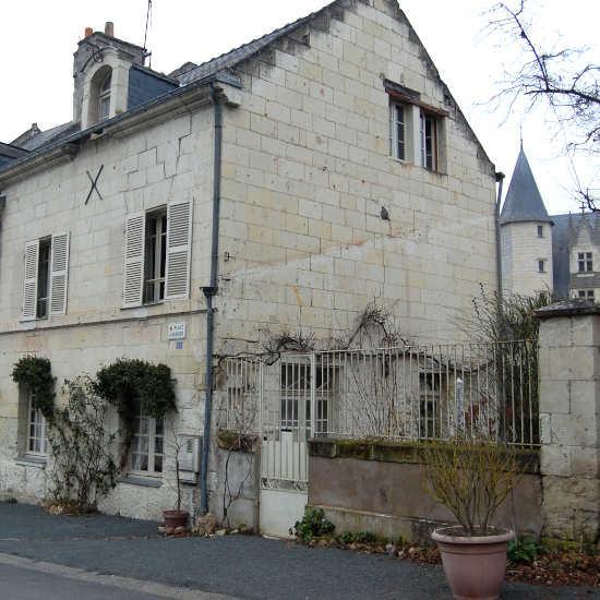 Le village de Montsoreau