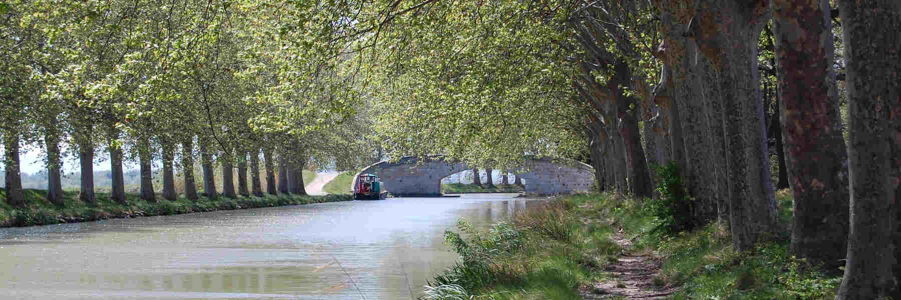 Visite du canal du midi