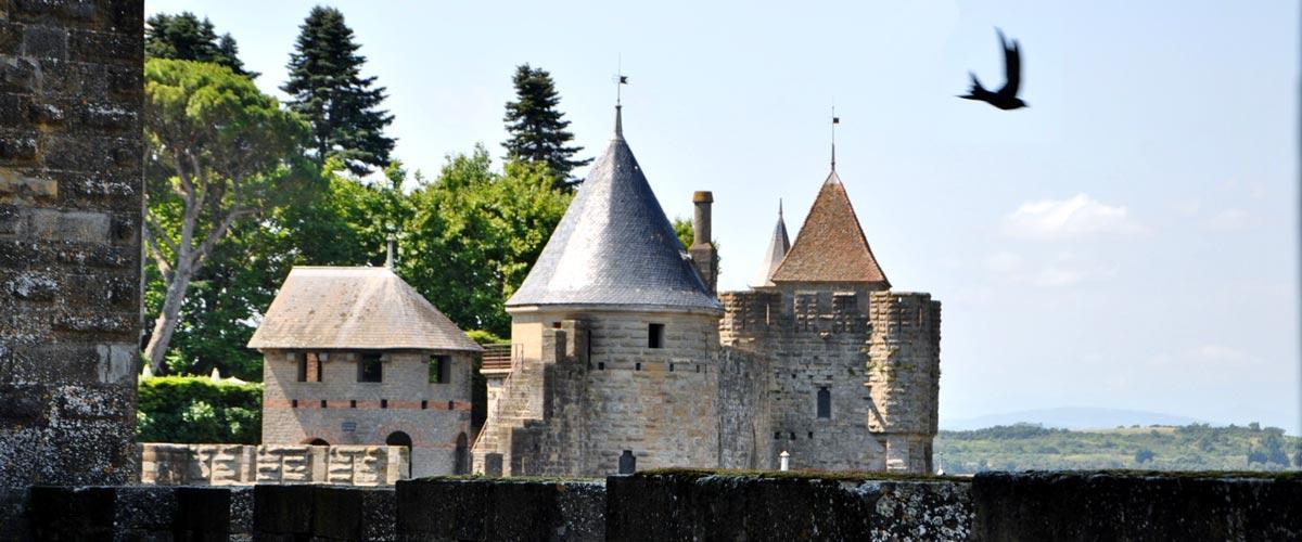 Visite de la ville de Carcassonne ville