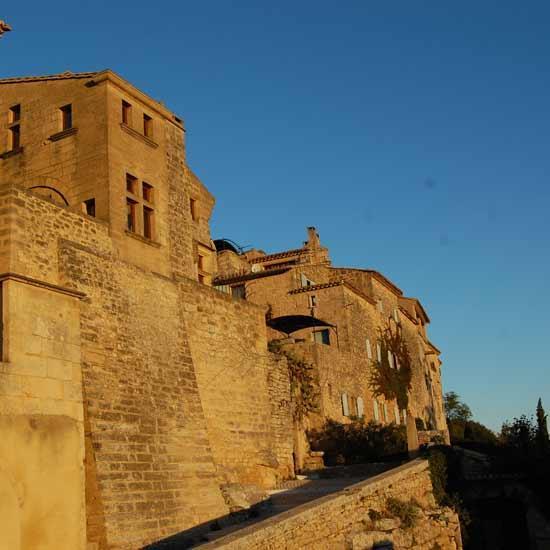 Visite de Castillon-du-Gard