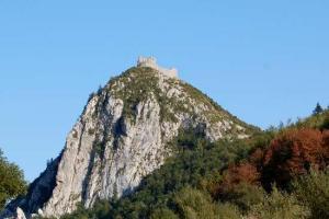 Visite du chateau de Montségur