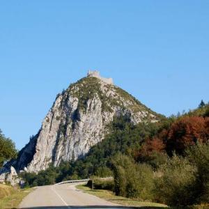 Visite chateau montsegur