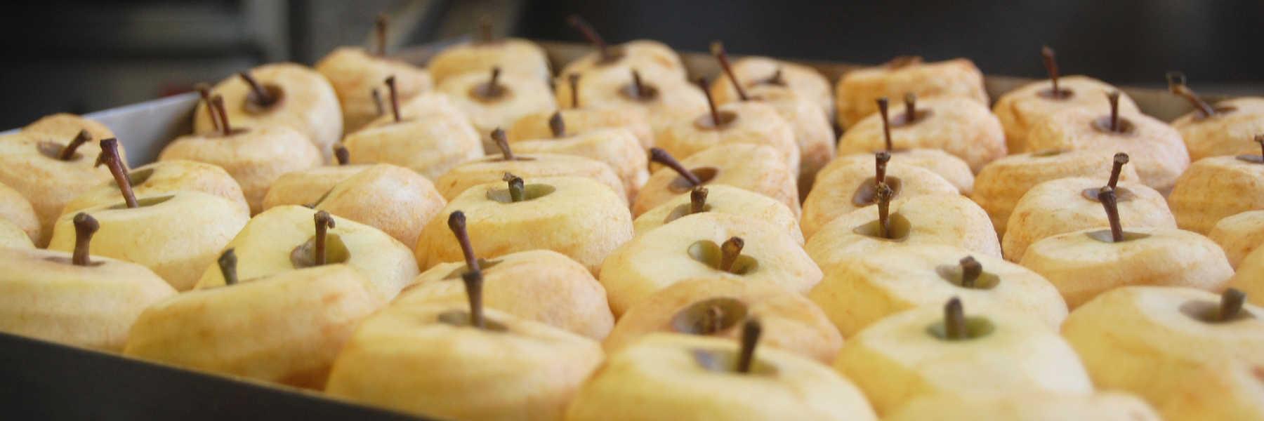 Visite des pommes tapées de Turquant