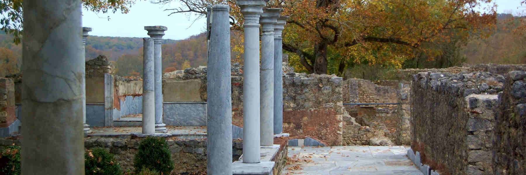 Visite de la villa de Montmaurin