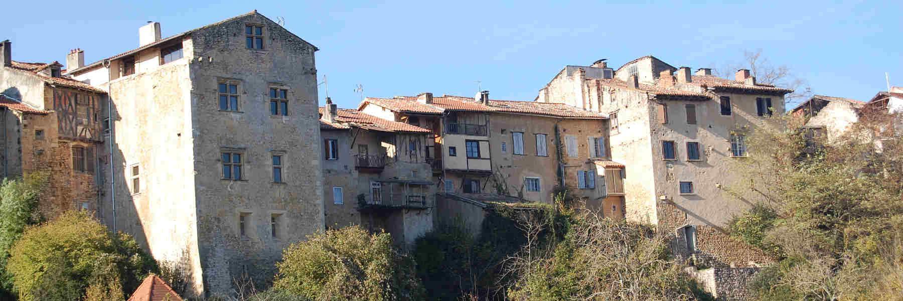 Visite du village d'Aurignac