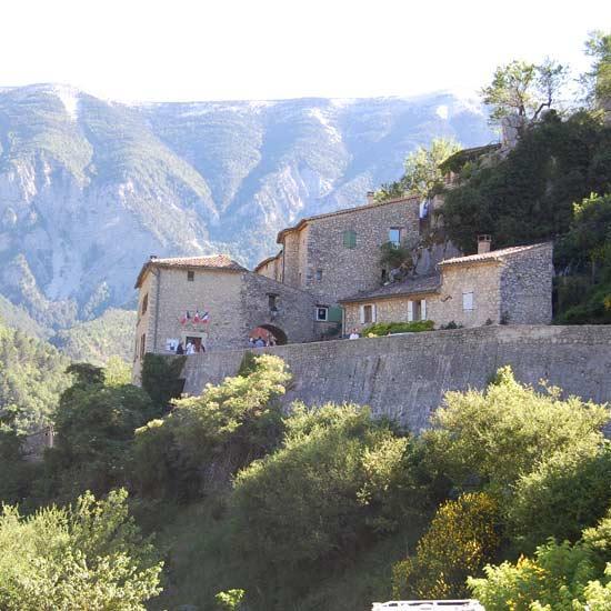 Visite du village de Brantes