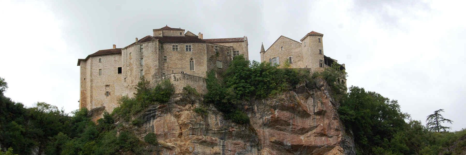 Visite du village de Bruniquel