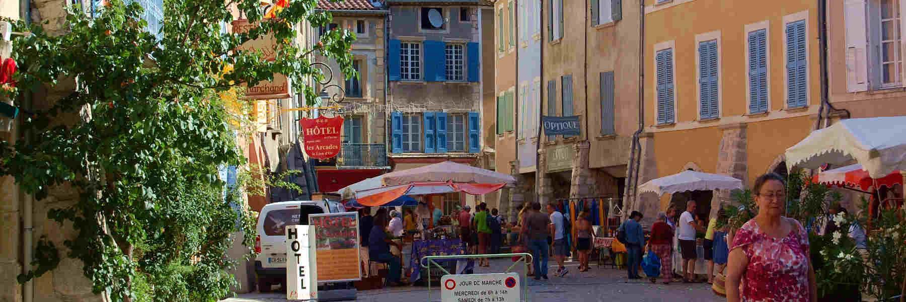 Visite du village de Buis-Les-Baronnies