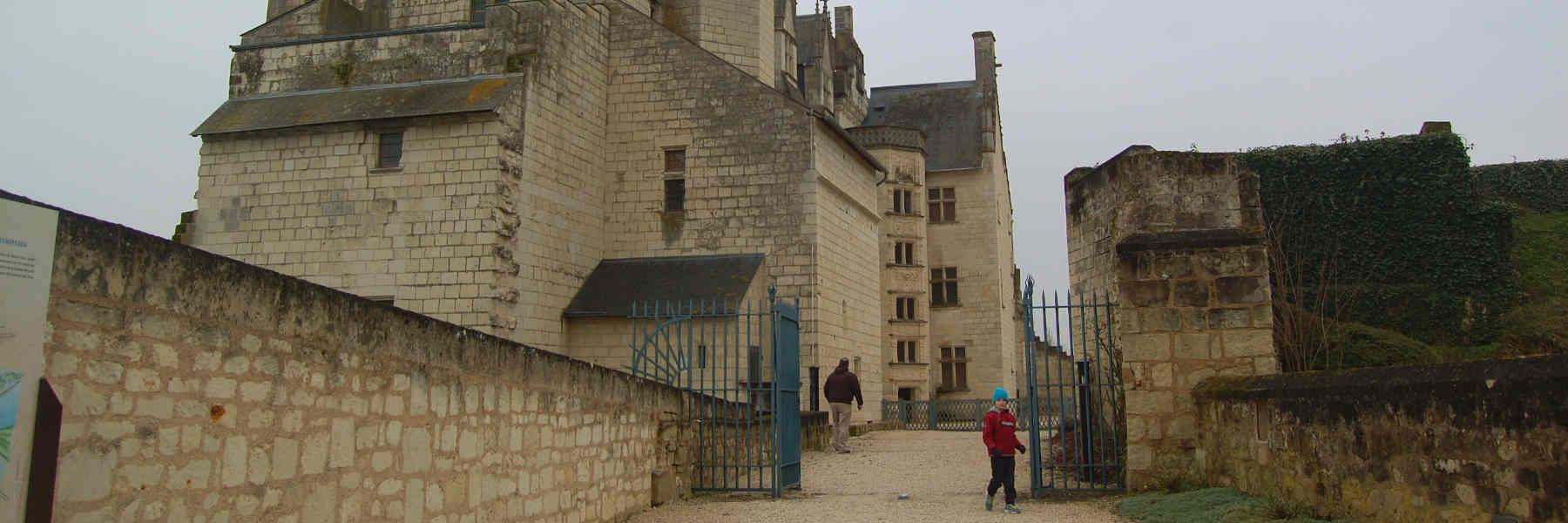 Visite du village de Montsoreau