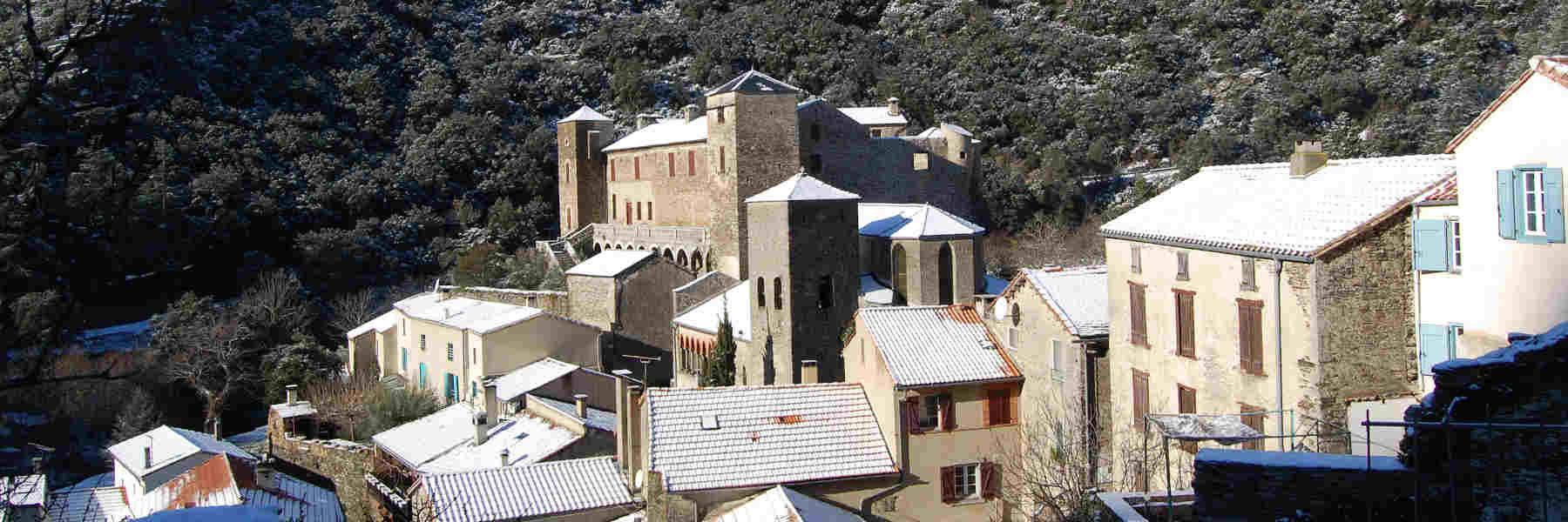 Visite du village de Roquefère