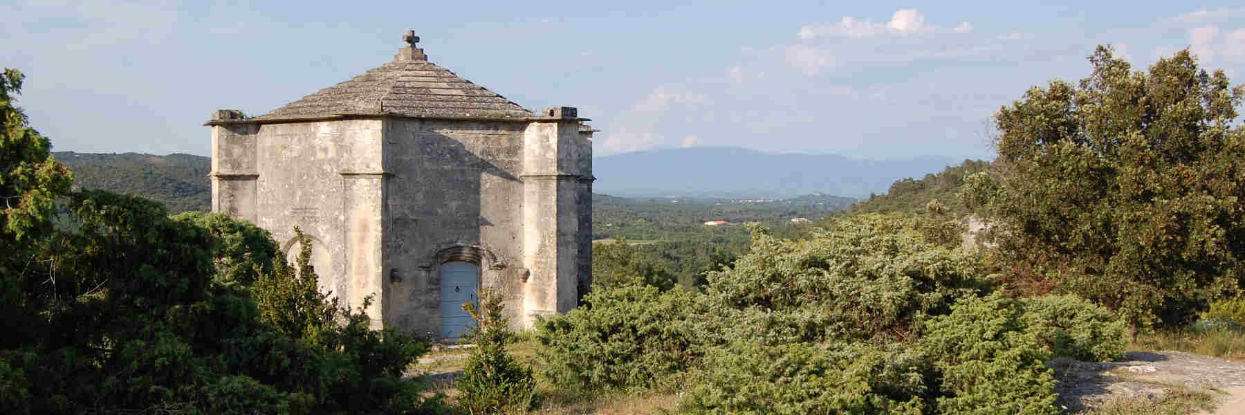 Visite du village de Saint-Restitut