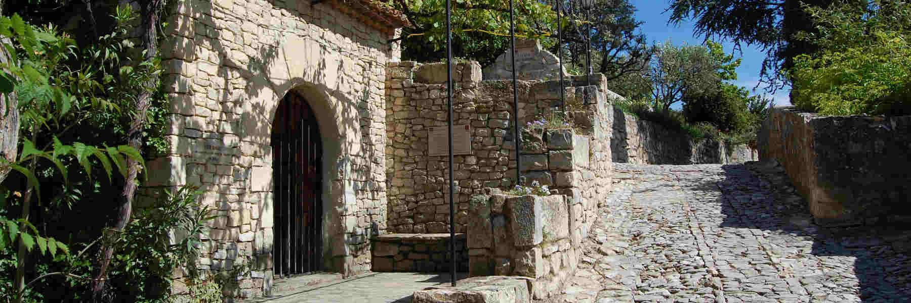 Visite du village de Séguret