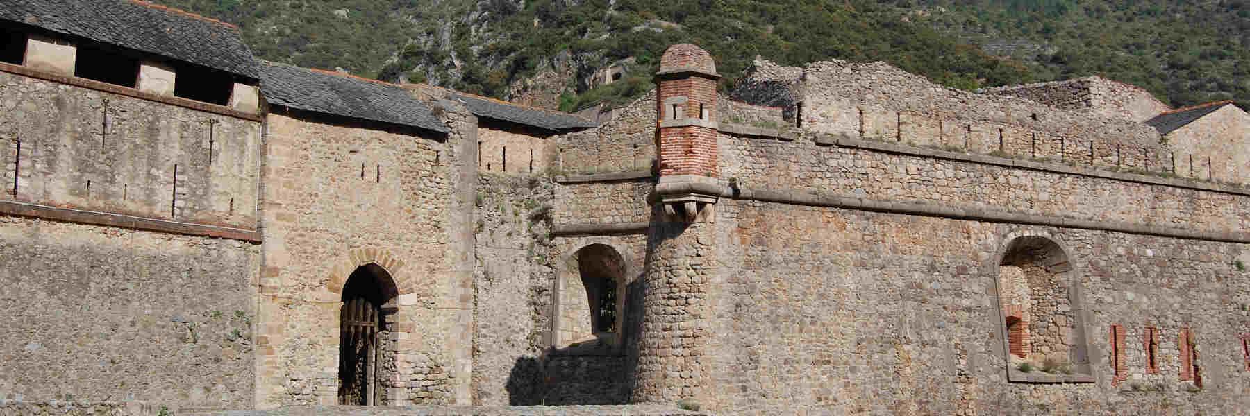 Visite du village de Villefranche-de-Conflent
