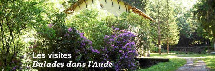 Les visites dans l'Aude