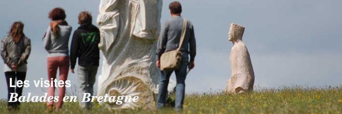 Les visites en Bretagne