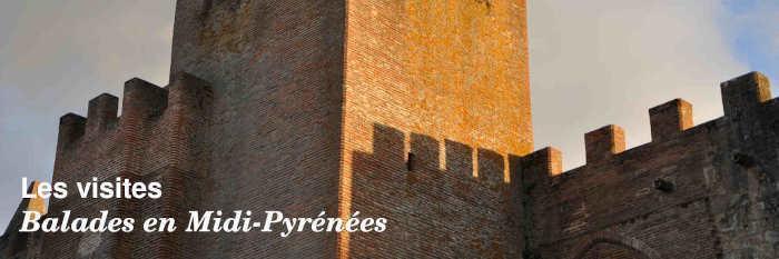Les visites en Midi-Pyrénées