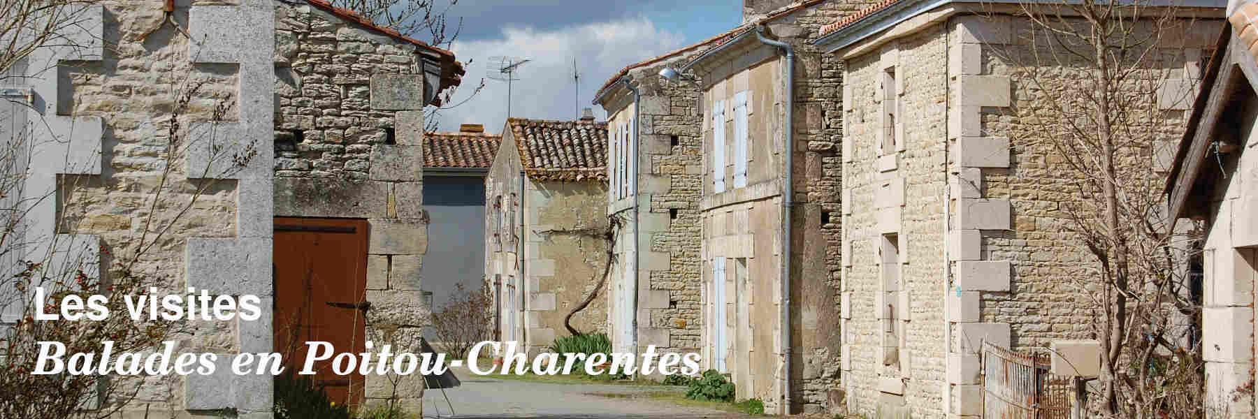 Les visites en Poitou-Charentes