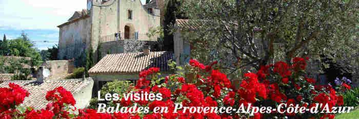 Visites en Provence-Alpes-Côte-d'Azur